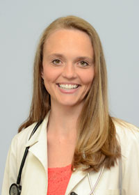 Heather Noblett, NP, of Gwinnett Center Medical Associates, Lawrenceville, GA